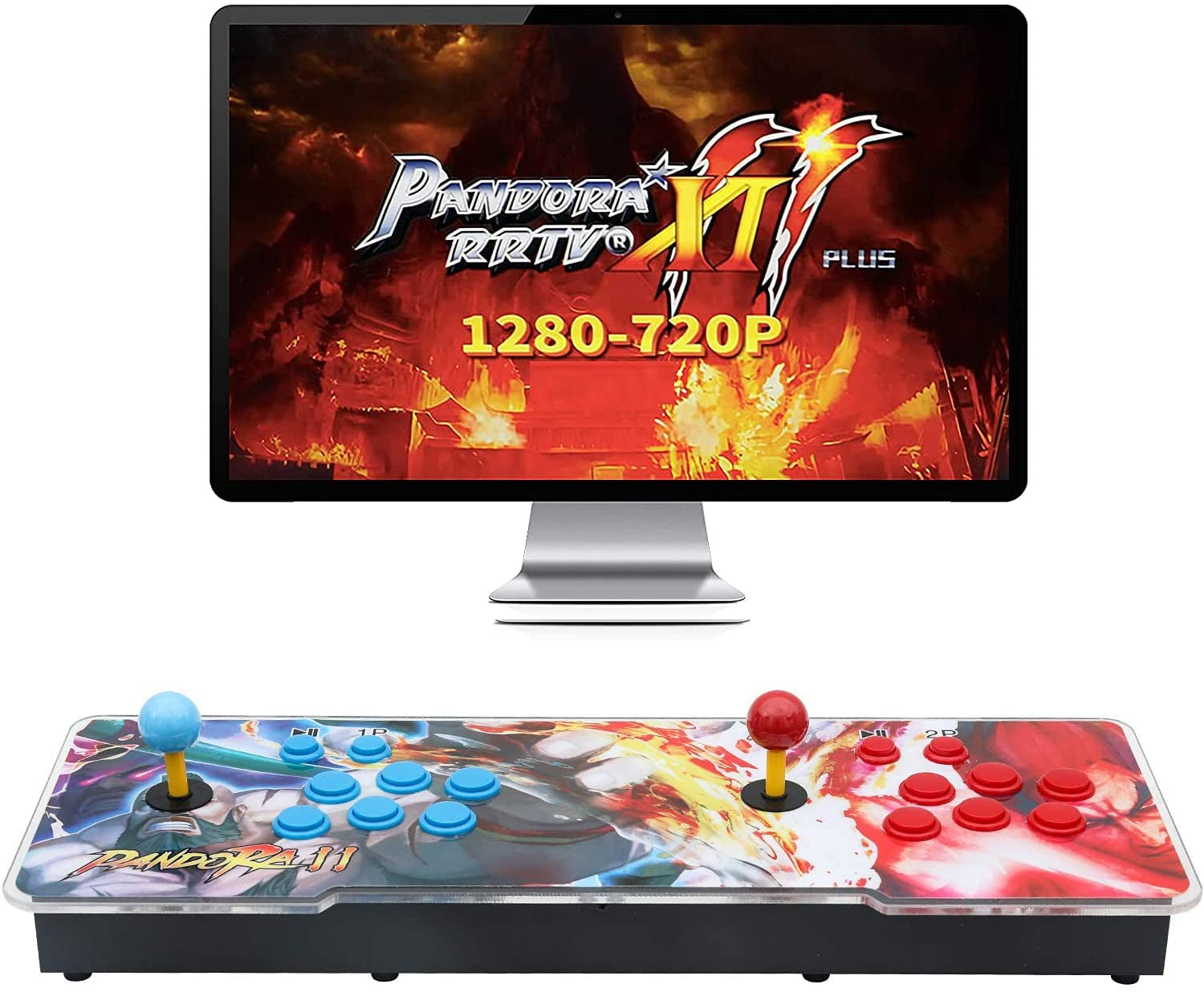 【3003 Games in 1】 Limited price Arcade Selling rankings Game D Treasure Pandora Console 3D