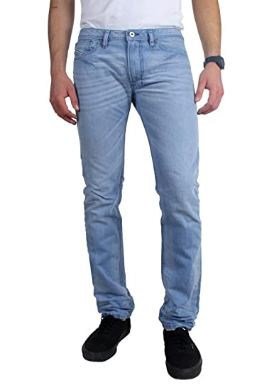 e75ba26a Diesel - Mens Shioner Skinny Jeans, Color: 0605L, 28W x 32L, Denim:  Amazon.co.uk: Clothing