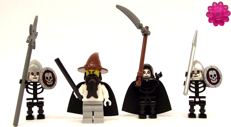 LEGO - Necromancer with Evil Skeleton Warriors clikits Flower