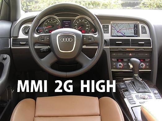 Audi MMI 2G HIGH software update + Maps update 2018 DVD1 + DVD2