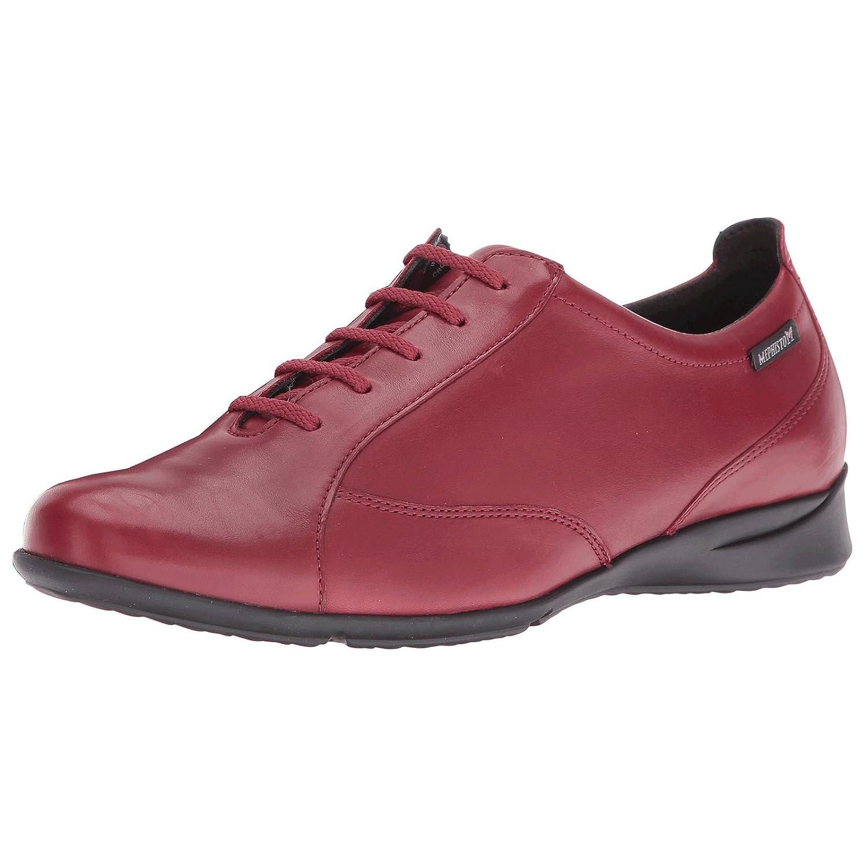 Oxblood Mephisto femmes Valentina Leather chaussures