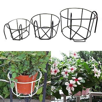 Steellwingsf Blumentopf Korb Halter Eisen Craft Balkon Garten