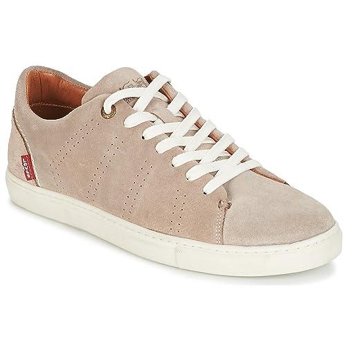 Zapatillas de Hombre Levis Vernon, Cuero, Gamuza, Color sólido: Amazon.es: Zapatos y complementos
