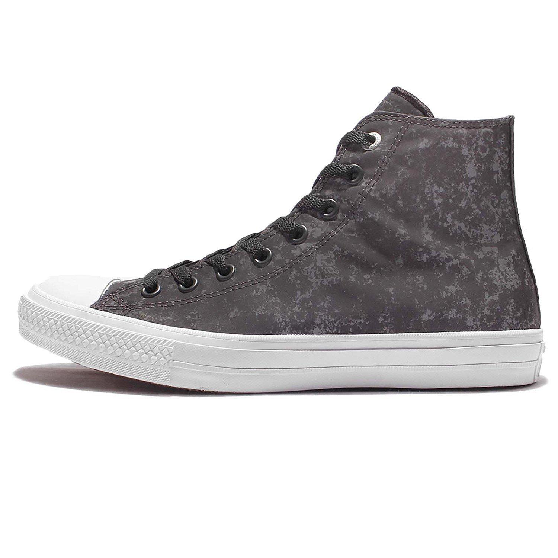 Zapatillas de deporte unisex Chuck Taylor All Star II Hi Top (6, casi negro): Amazon.es: Zapatos y complementos