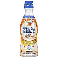 ドリンクの新商品】牛乳と楽しむ『カルピス』 マンゴー 300ml×12本