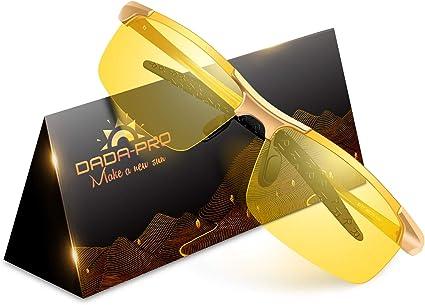 Nachtfahrbrille Auto Polarisiert Herren Damen Autofahren Hd Gelbe Anti Glanz Biker Nachtsichtbrillen Brille Gewidmet Nachtbrille Gold Auto