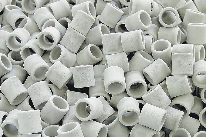 Sera Medio filtrante biológico autolimpiante de alto rendimiento en forma de anillo para el acuario Professional siporax (15 mm): Amazon.es: Productos para ...