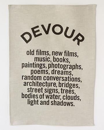 DEVOUR - NOIR on OATMEAL | Studiopatró