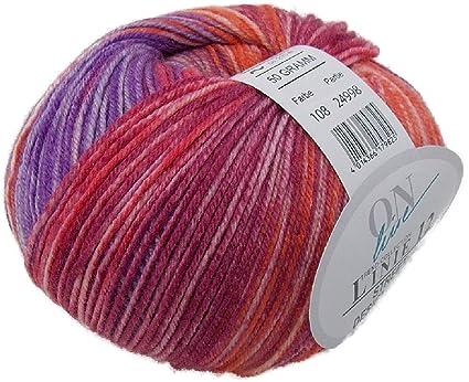 Ovillo de lana merino de Online Linie, 50 g, varios colores, lana suave
