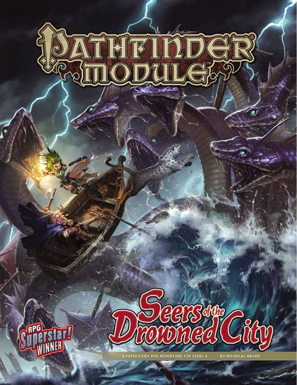 Download Pathfinder Module: Seers of the Drowned City PDF