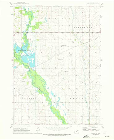 Sumner Iowa Map.Amazon Com Yellowmaps Sumner Sw Ia Topo Map 1 24000 Scale 7 5 X