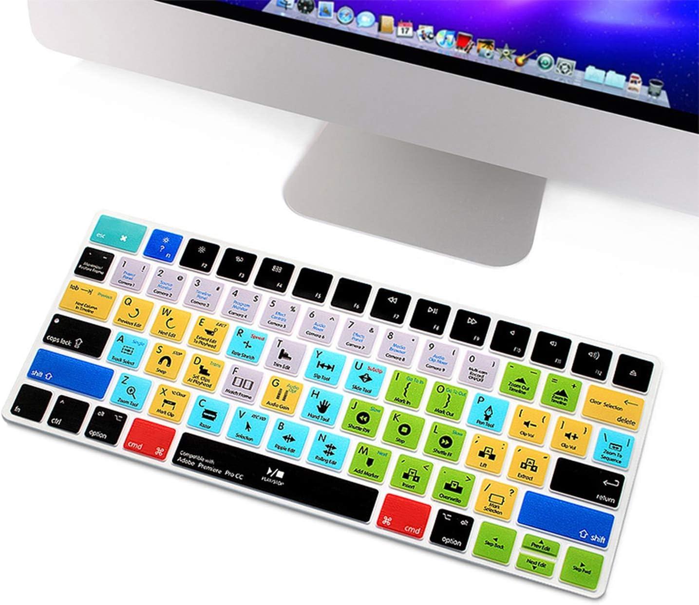 Adobe Premiere Pro CC - Protector de teclado de silicona ...