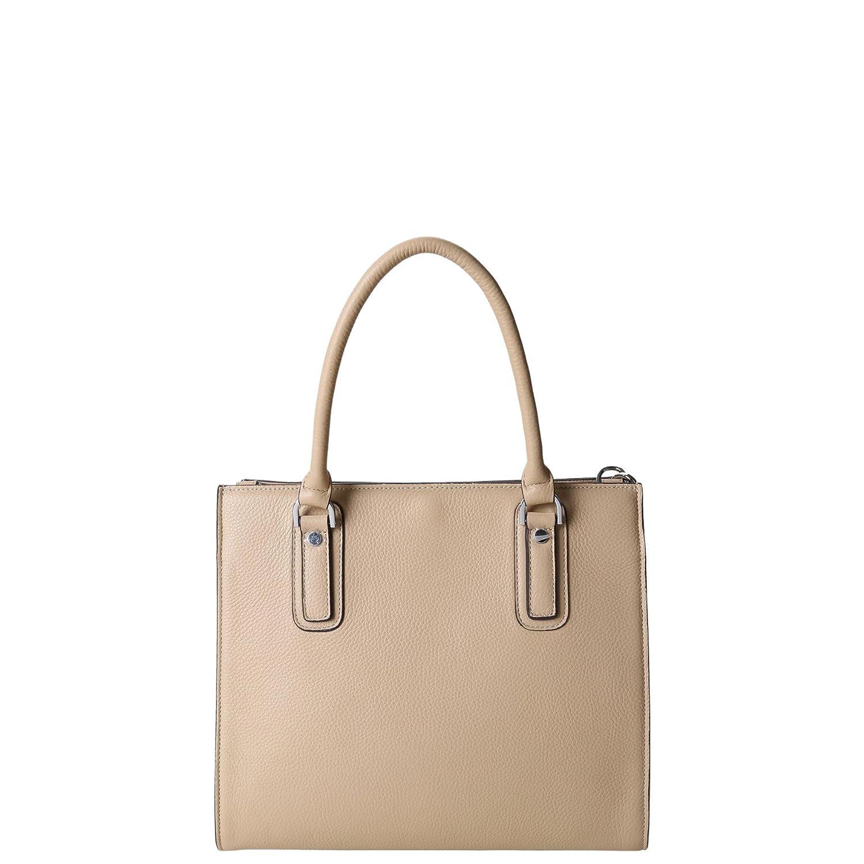 dd63d8a460 KESSLORD - MILA Sac A Main En Cuir de Veau Grainé Camel Clair - Femme:  Amazon.co.uk: Shoes & Bags