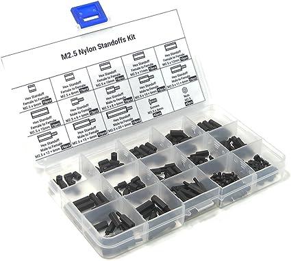 Abstandsbolzen-Set M2,5 für Raspberry Pi 20 mm