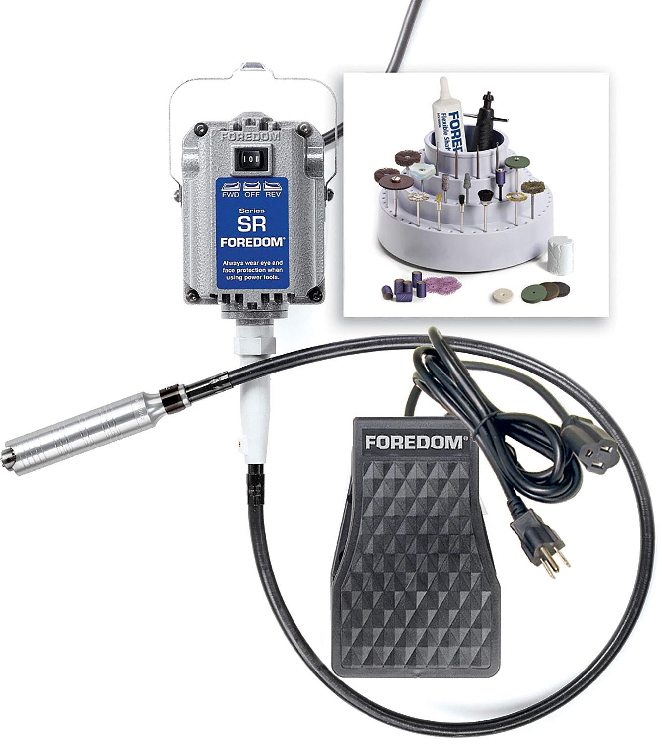 Foredom 2230, SR motor, Jewelers Kit by Foredom