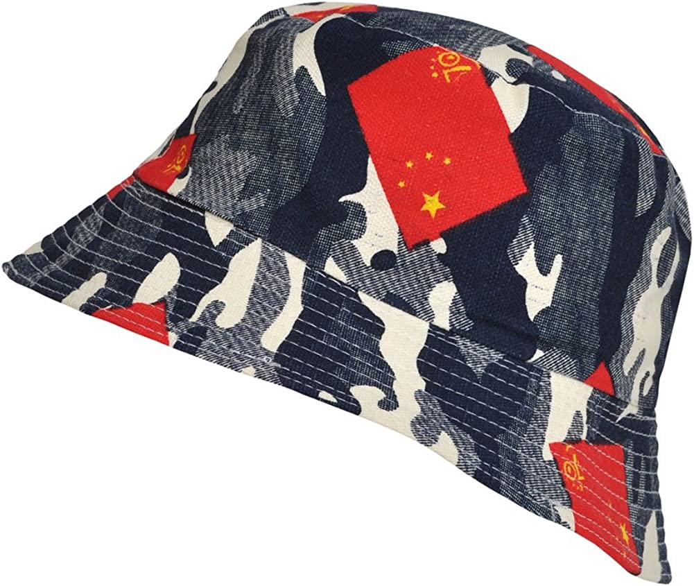100/% Summer Cotton Bucket Hat TOUTACOO