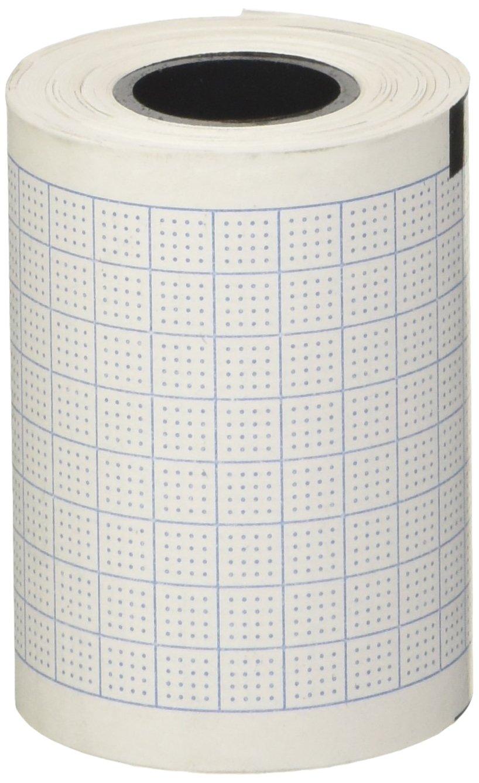 tecnocarta ri4405001316ec1Kit 10rollos de papel térmico para ECG compatibles con cardiette, 50mm x 15m