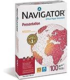 Premium Bewerbungspapier 500 Blatt 100g DIN A4 Ultra Weiß - Perfekt für Ihre Bewerbung // Navigator Presentation Laser Tinte Kopierpapier Papier 100g/m² Office Paper