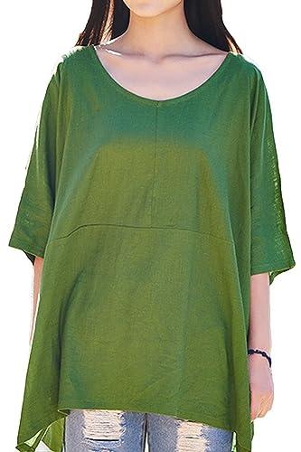 Lazutom - Camisas - Cuello redondo - para mujer