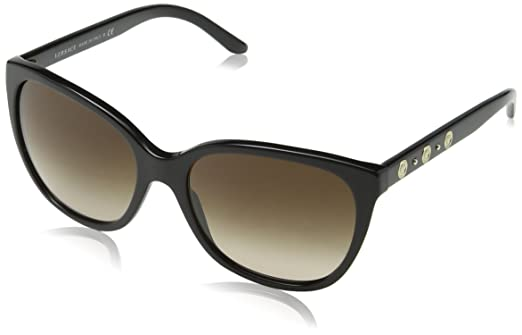 Versace Womens Sunglasses (VE4281) Black/Brown Acetate - Non-Polarized -  57mm