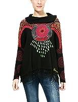 Desigual Jers_lluka, Suéter para Mujer