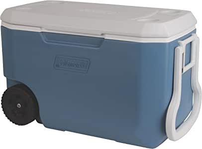 Slate Heavy-Duty 62-Qt 5-Day Cooler W// Wheels Outdoor Cold Beverage Storage
