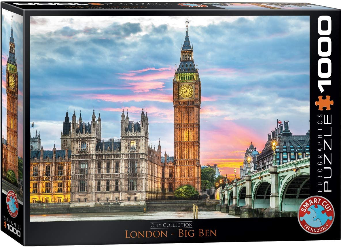 EuroGraphics London Big Ben (1000 Piece) Puzzle