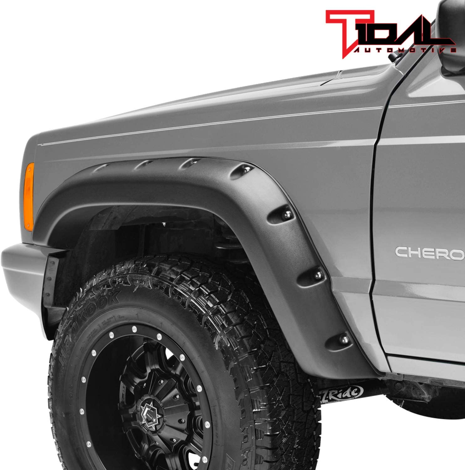 Tidal Fender Flares Rivet Style Bolt on Pocket for 84-01 Cherokee XJ