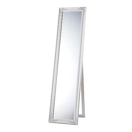 Rende Piu O Meno Deformanti Gli Specchi.Montemaggi Specchio Da Terra Con Cornice Rettangolare Lunga 40x4x160 Cm Variante Unica