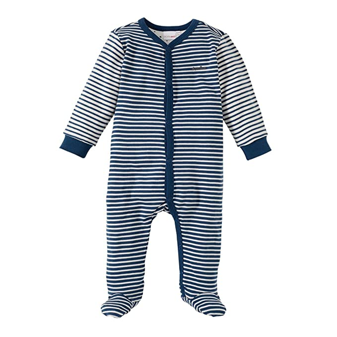 a2db8347600af1 Bornino Baby Schlafanzug Strampler Schlafstrampler Overall Nachtwäsche   100%  Baumwolle