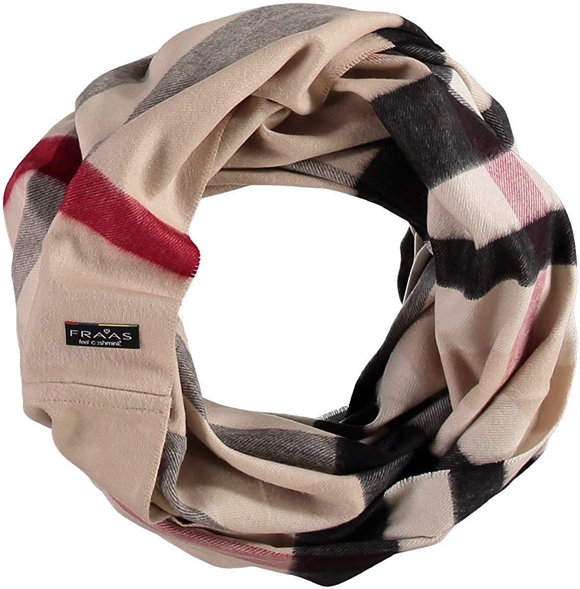 FRAAS Damen Schal 625000 FRAAS Damen Schal SNOOD Gr. One size Beige (Beige 170)