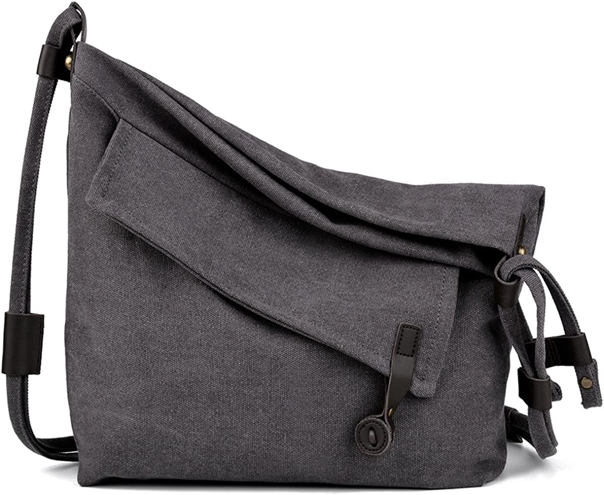 COOFIT Canvas Bag Crossbody...