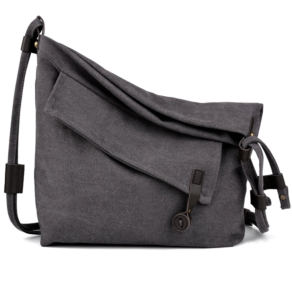 COOFIT Canvas Bag for Women Crossbody Bag Messenger Bag Shoulder Bag Hobo Bag Unisex 5815VDMM50P4HTGU04U0X16C
