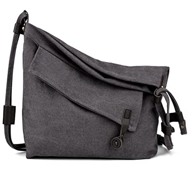 f6767069d2d5 Amazon.com  COOFIT Canvas Bag for Women Crossbody Bag Messenger Bag  Shoulder Bag Hobo Bag Unisex  Clothing