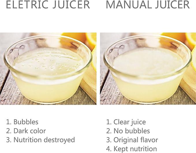 Compra WILBEST Exprimidor Limón Manual, Exprimidor Manual de ...
