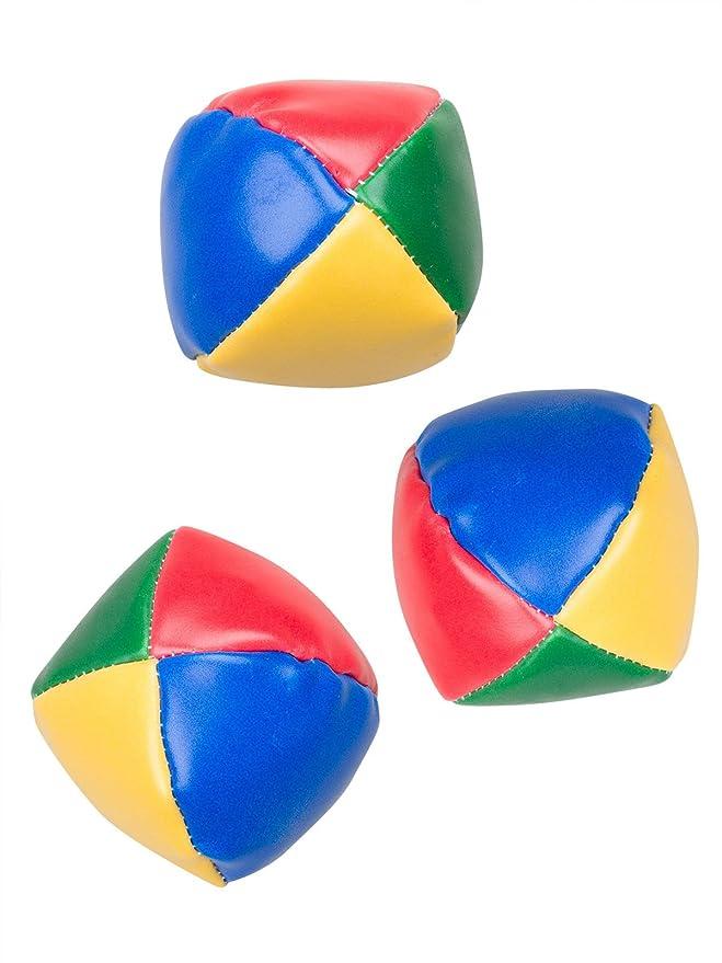 Juego de pelotas de malabares, 65 mm, 3 unidades: Amazon.es ...