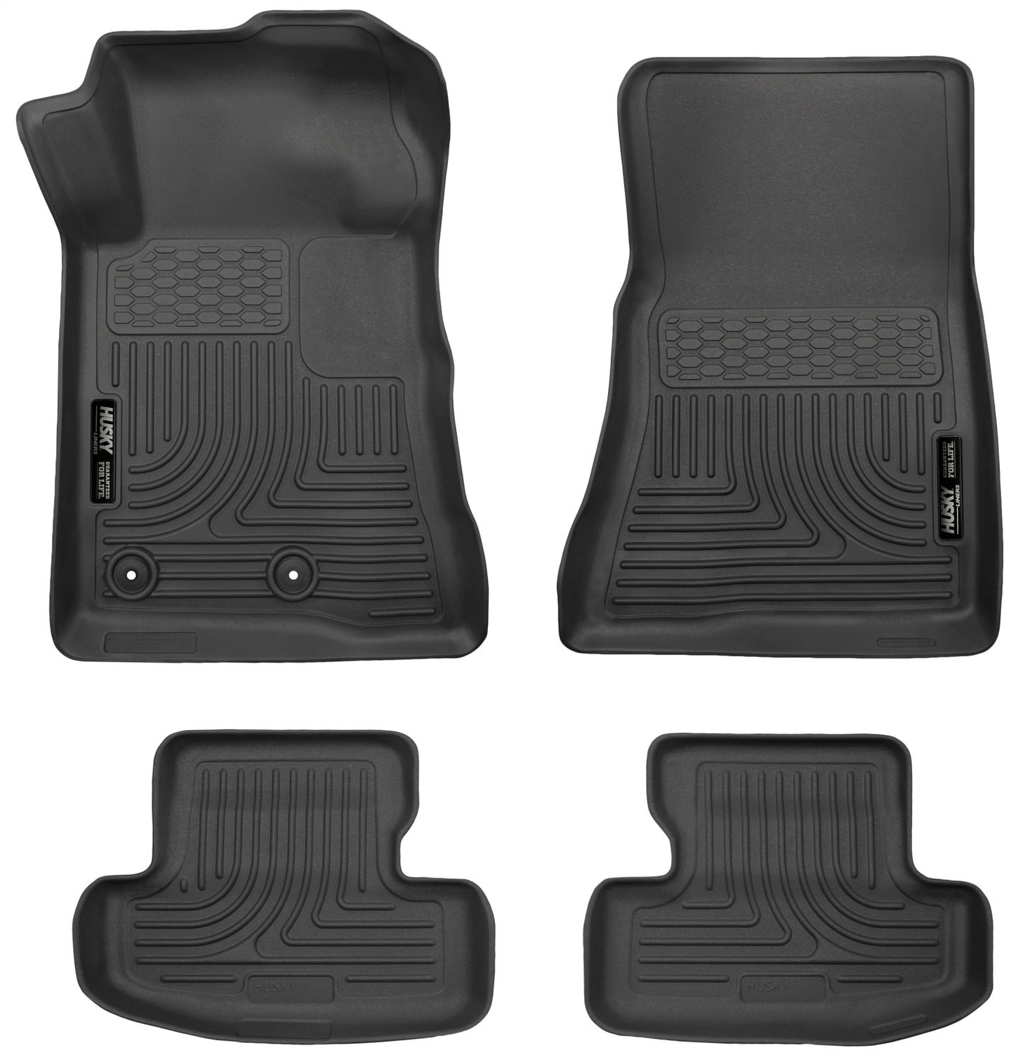 Husky Liners Front & 2nd Seat Floor Liners Fits 15-18 Mustang 99371