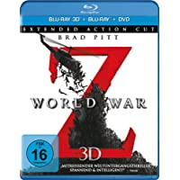 World War Z  - Extended Action Cut  (+ BR) (+ DVD) [Alemania] [Blu-ray]
