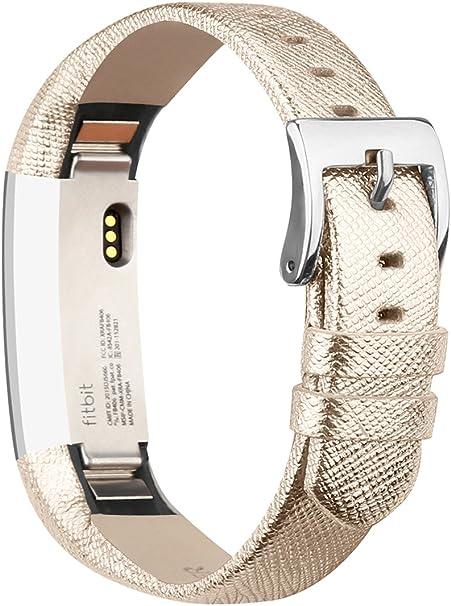 fitbit alta bracelet cuir