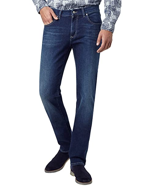 Storm, Vaqueros Rectos para Hombre, Blau (Dark Used with Buffies 432), 32W x 32L Pioneer Authentic Jeans