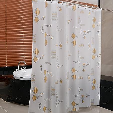 Shower Curtains Curtain Waterproof Thicken Mildew Bathroom Door Partition Cloth Hook