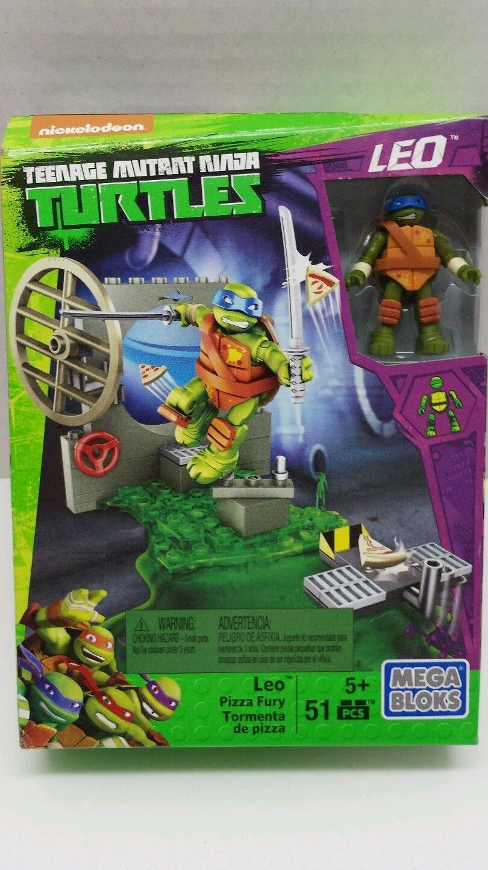 Mega Bloks Teenage Mutant Ninja Turtles Leo Pizza Fury ...