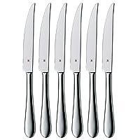 WMF Steakmesser-Set 6-teilig Cromargan Edelstahl rostfrei 18/10 poliert