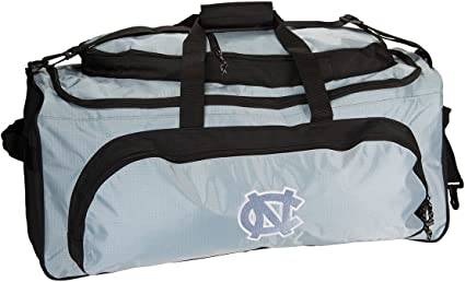 Travel Bag w// College Team Logo Sport Bag NCAA Heavy Duty Duffle Bag Gym Bag