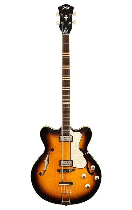 Höfner Verythin Bass HCT-500/7-SB · Bajo eléctrico