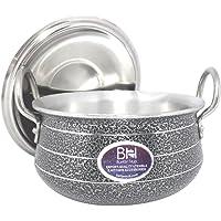 Aluminium Handi with lid (3500ml)