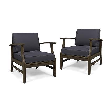 Amazon.com: Great Deal Furniture Simona - Juego de 2 sillas ...