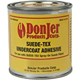 Suede-Tex Undercoat Adhesive - Black - 8 OZ Can