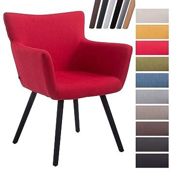 CLP Chaise de Salle à Manger Antwerpen Tissu I Chaise Design Retro ...