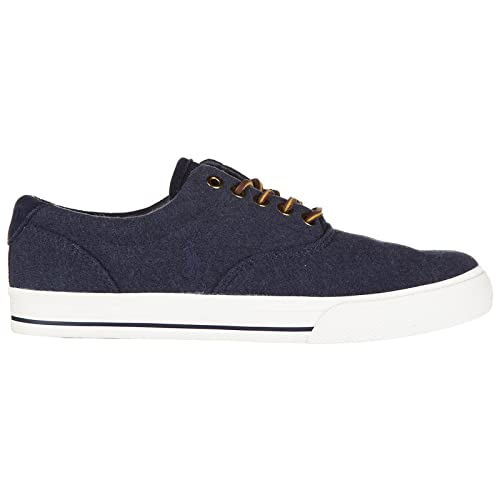 Polo Ralph Lauren Zapatillas Deportivas Hombre Dark Blue Heath: Amazon.es: Zapatos y complementos